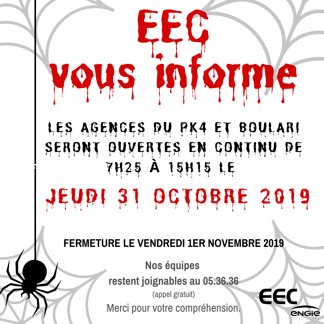 ouverture halloween